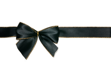 Elegant black bow