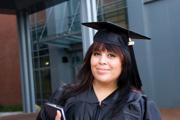 Young Woman Graduate
