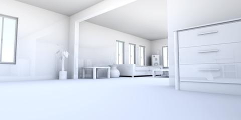 Apartment Interior.
