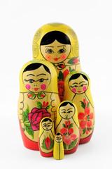 Russian nesting dolls ( babushka )