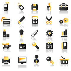 yellow icons set 2