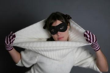 femme masque