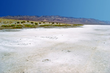 Lifeless landscape of the Valley of Death. California. USA