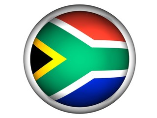 National Flag of South Africa | Button Style |