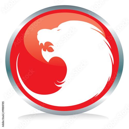 83034a718d6eb Tiger button sign