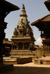 Temple in Bhaktapur, Nepal