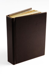 Stylish brown photo album cover