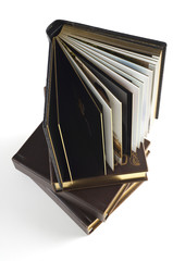 Stylish brown photo album cover