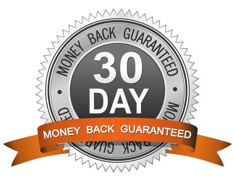 30 Day Money Back Guaranteed Sign
