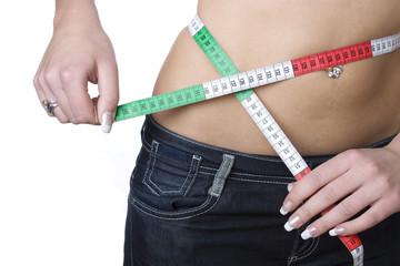 Measuring a waist