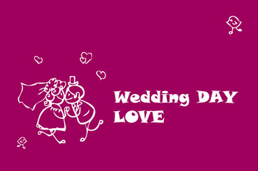 Wedding Love Couple Card