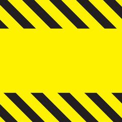 Caution Construction background