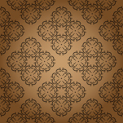 Vintage Wallpaper Seamless Pattern Original Design