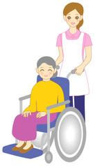 ホームヘルパー 車椅子 介護