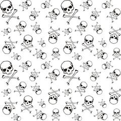 cross bones pattern