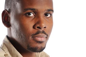 Black man's portrait