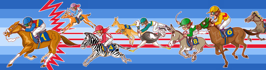 競馬レース!?