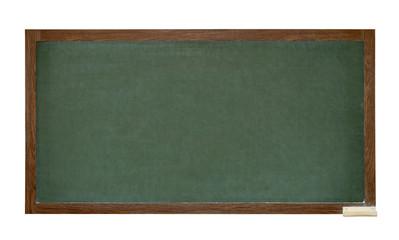 Green school blackboard cutout
