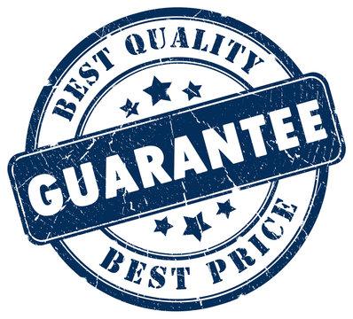 Best choice guarantee stamp