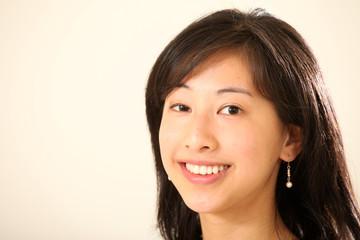 Young Cute Asian Woman
