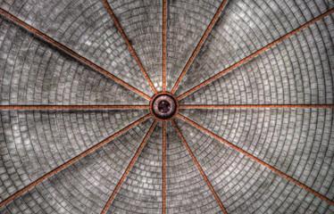 Keuken foto achterwand Oud Ziekenhuis Beelitz symmetrie