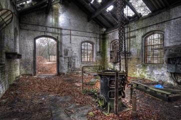 Keuken foto achterwand Oud Ziekenhuis Beelitz Herbst im Haus