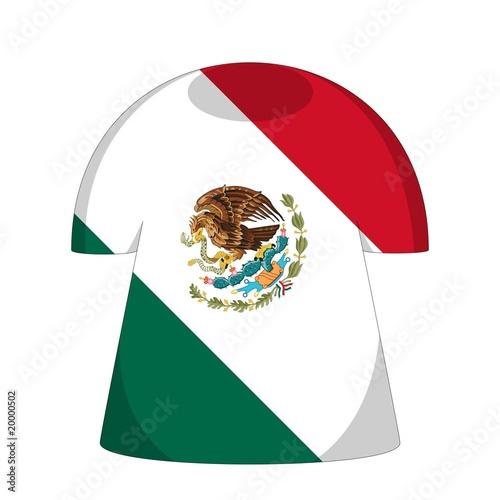 Maillot Mexique Drapeau Mexico Flag Stock Photo And Royalty Free