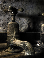 Old Bathroom Tap