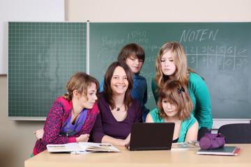 moderner unterricht in der schule
