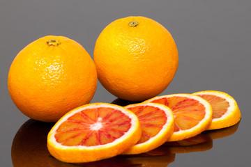 Spoed Foto op Canvas Plakjes fruit Oranges