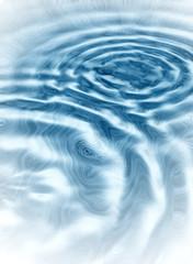 ondas en el agua