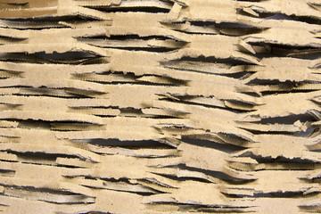 cutted cardboard background