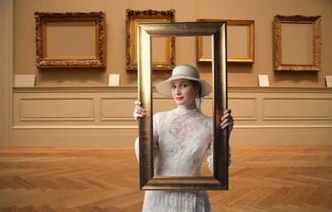 Beauty in frame