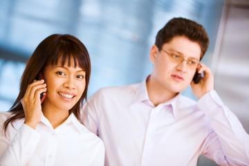 Calling employees