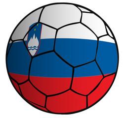 balón bandera selección Eslovenia