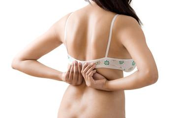 Dressing or Undressing designer bra