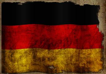 Deutschladfahne - Vintage