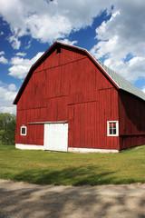 Red Michigan Barn