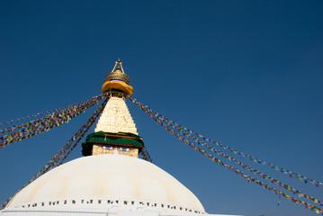 Buddhist stupa in Boudhanath,Kathmandu