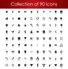 Collection of icons for your business website