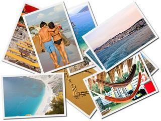 Cartoline dalle vacanze al mare