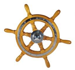 wooden metal wheel steering