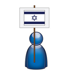 Pancarta Israel