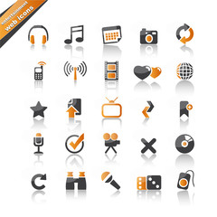 entertainment web icons