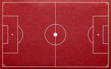 Image result for red football pitch