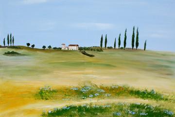 Toskanisches Gemälde