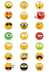 Collection of smiles