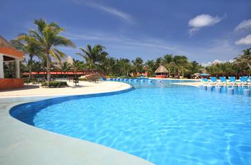 Beach resort swimming pool