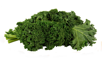 bunch of fresh kale