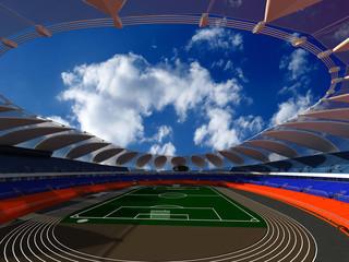 Photo sur Aluminium Stade de football Sports stadium